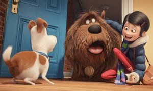 Biggest animated opening of the year so far … The Secret Life of Pets.