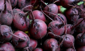 Beetroot: don't eat more than two a day.