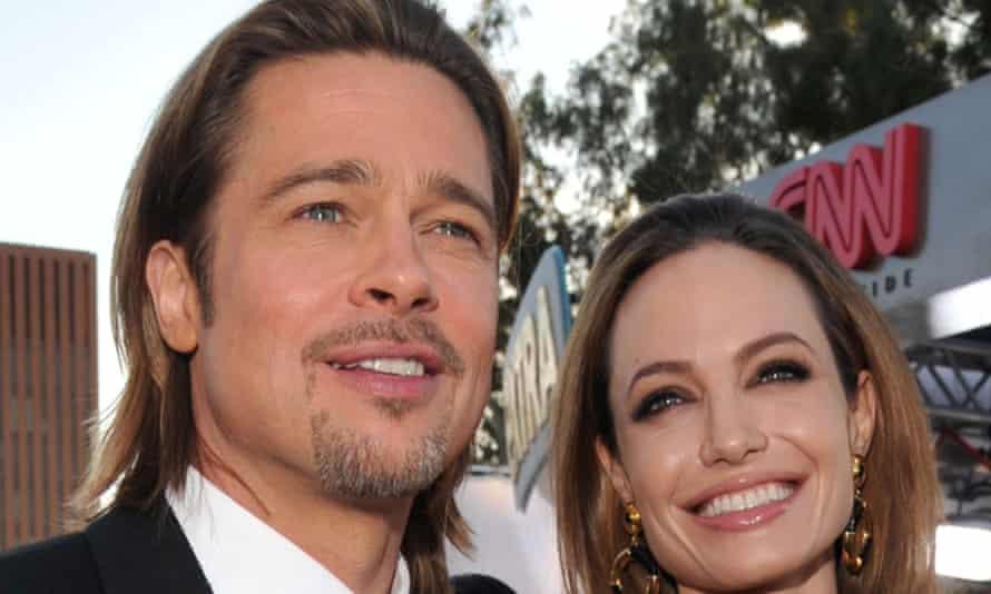 Brad Pitt and Angelina Jolie in 2012.