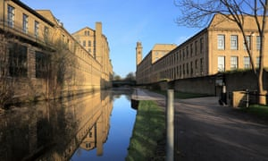 Salts Mill and the Leeds-Liverpool Canal, Saltaire
