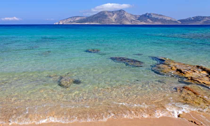 Open water: an empty beach on the islands of Koufonisia.