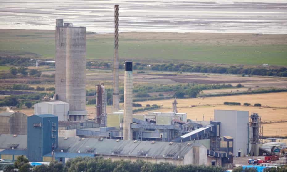 The CF Fertilisers plant near Ince in Cheshire