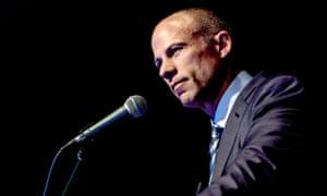 Testing the waters of a presidential run, attorney Michael Avenatti speaks in Iowa.