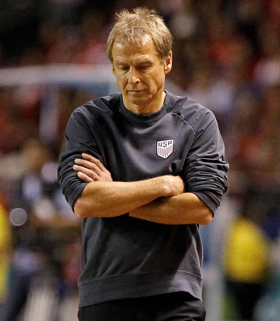 Jürgen Klinsmann: coach and technical director in one.