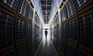the  Facebook Data Center in Lulea, in Swedish Lapland.