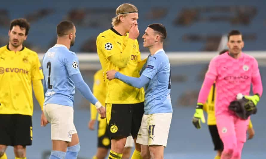 Erling Haaland, who created Borussia Dortmund's goal against Manchester City in their Champions League encounter on Tuesday night, looks likely to be sold this summer.