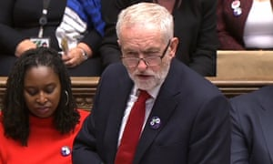 Jeremy Corbyn accused May of presiding over a massive reduction in real-terms wages.