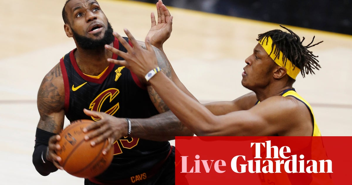 6510a70f4b6c Indiana Pacers 101-105 Cleveland Cavaliers  NBA Eastern Conference quarter- finals