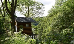 the 'treehouse' at Wild Fal