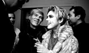 Warhol and Sedgwick in New York, 1965.