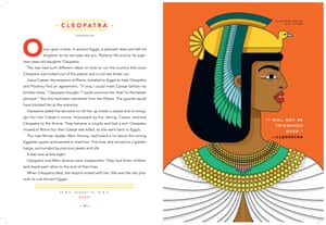 Queen Cleopatra in Good Night Stories for Rebel Girls.