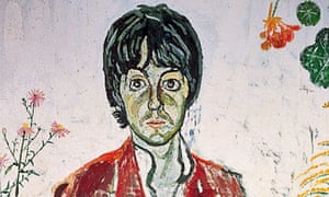 Paul McCartney and Flowers painted in 1967 – but who was the artist?