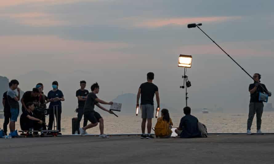 Cameras roll … film crews resume production.