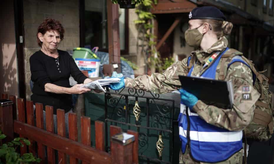 Soldiers assist with surge testing in Bolton