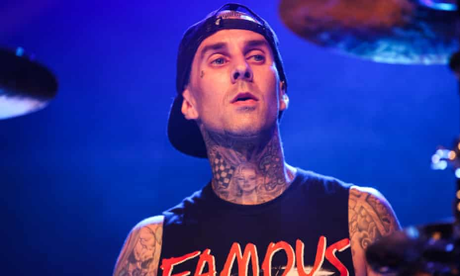 Here, there and every snare ... Travis Barker.