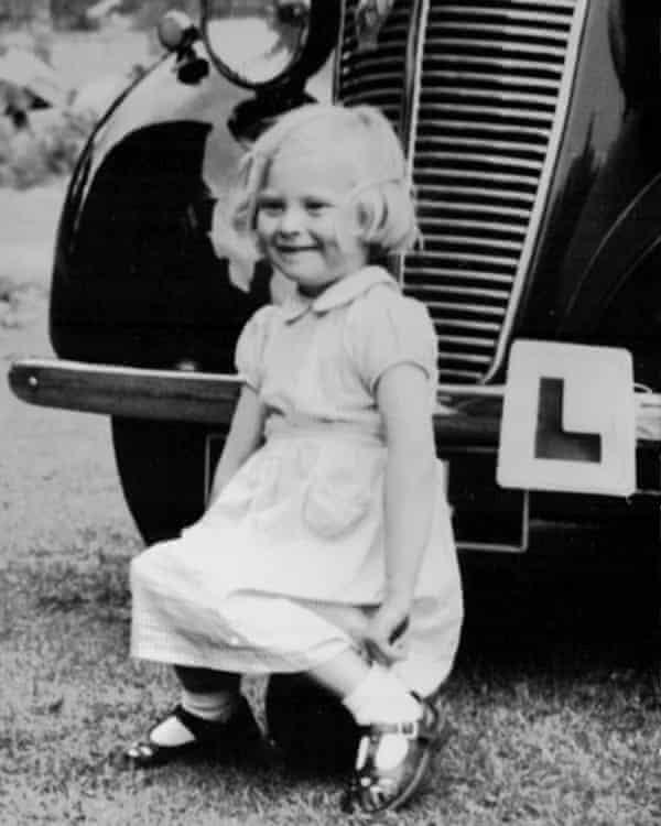 Margaret Allan aged six.