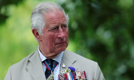 Prince Charles in Alrewas on 15 August. 'At this late stage I can see no other way forward but to call for a Marshall-like plan for nature, people and the planet,' he said.