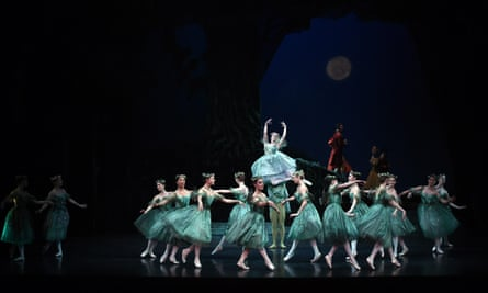 The Australian Ballet presents The Dream, a triple bill of works by master choreographer Frederick Ashton, during a dress rehearsal at the Opera House in Sydney on April 28, 2015. The performance will be running from April 29, to May 16. AFP PHOTO / Saeed KHANSAEED KHAN/AFP/Getty Images