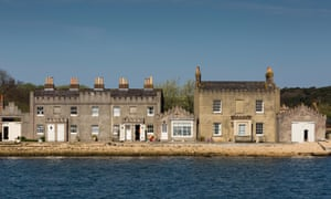 Custom House and Agent's House – two National Trust properties – on Brownsea Island