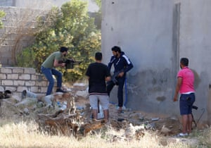 Libyan government forces exchange fire with eastern militia forces in Ain Zara, Tripoli