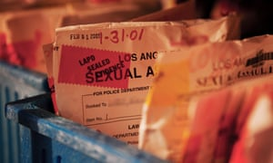 Tens of thousands of rape kits have created a 'rape kit backlog' over decades.