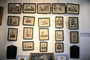 Caricatures depicting Napoleon