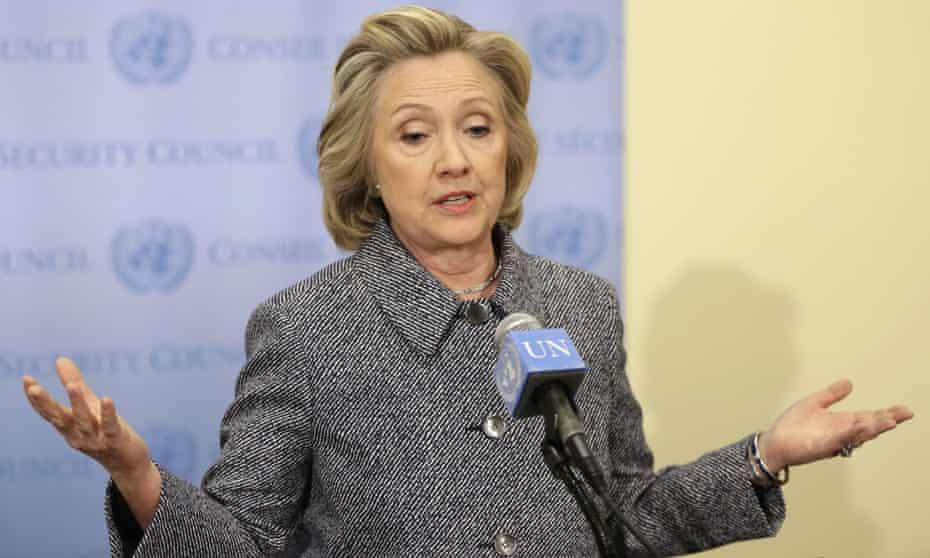 Hillary Clinton at UN