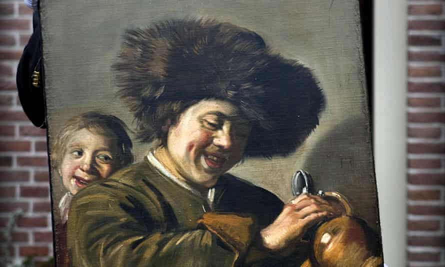 Detail from Two Laughing Boys by Frans Hals.