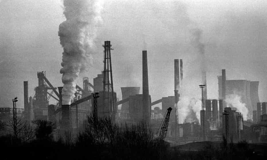 Ravenscraig steelworks, Motherwell.