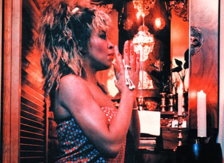 Simply the best … Turner chanting her appreciation when Mad Max Beyond Thunderdome became a hit in 1985.