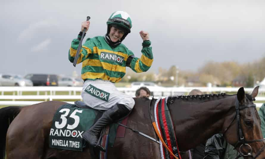 Rachael Blackmore is first female jockey to win Grand National, on Minella  Times | Grand National 2021 | The Guardian