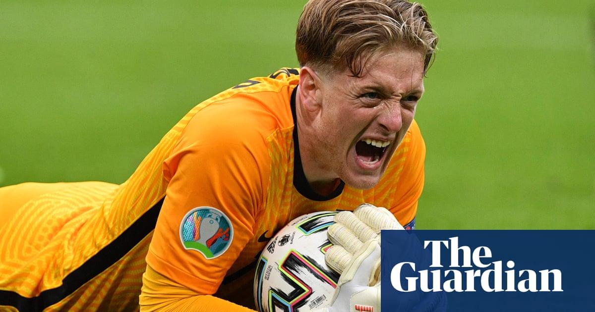 Jordan Pickford, England's ultimate tournament animal, has come to play | Jonathan Liew