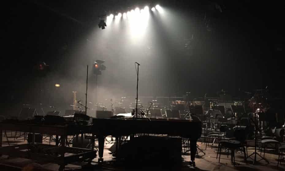 Empty orchestra seats
