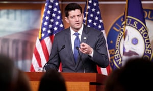Paul Ryan said: 'The finishing touches came out this week and we have a hard deadline we're working up against.'