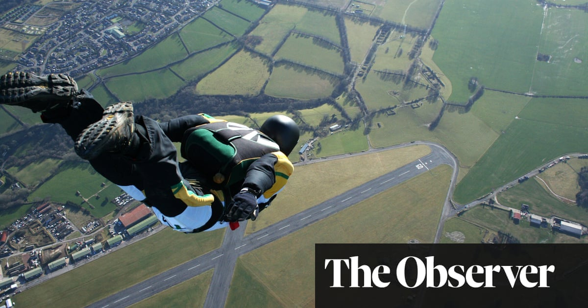 'We took up skydiving to escape': Britain's lockdown thrill-seekers