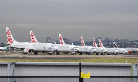 Planes grounded Sydney