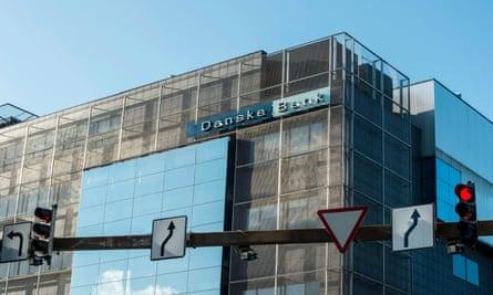 Danske Bank's branch in Tallinn, Estonia.