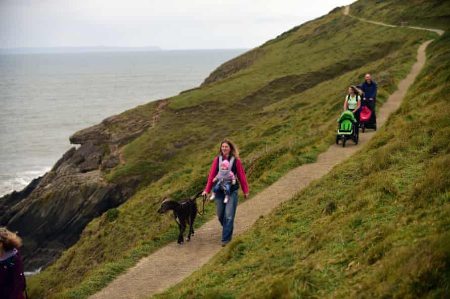 Baggy Point's easy access path gives people of all ages and abilities the chance to get out on a rugged headland.