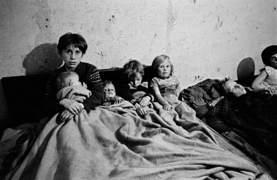 Childrens' bedroom Manchester 1971