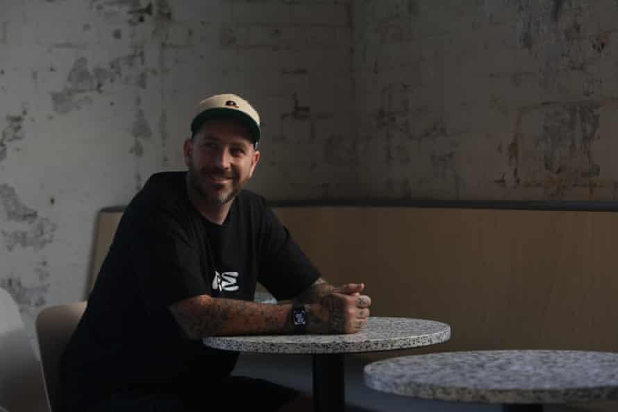 Matt Whiley en el bar Re