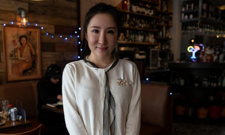 Restaurant owner and Lulu Jessica Shen.