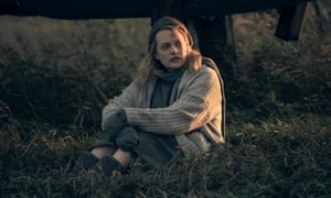 Elisabeth Moss as June (Offred) in The Handmaid's Tale