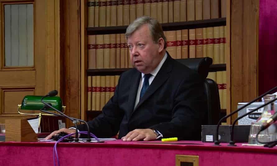 Lord Carloway, Scotland's most senior judge