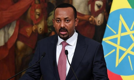 Nobel peace prize: Ethiopian prime minister Abiy Ahmed wins 2019 award – as it happned
