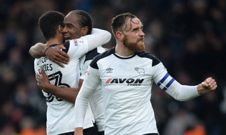 Football League: Derby County match 22-year-old record