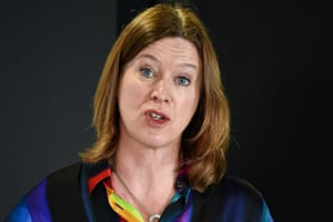 Dr Catherine Calderwood at a coronavirus briefing at St Andrews House in Edinburgh 29 March