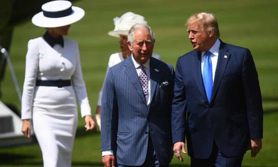 Donald Trump and the Prince of Wales.