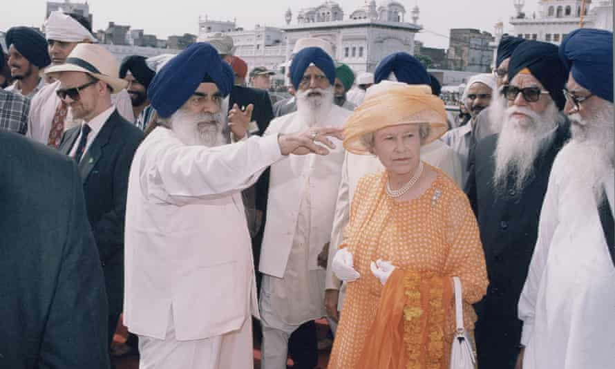 The Queen in Amritsar, 1997