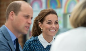 Catherine, Duchess of Cambridge and Prince William, Duke of Cambridge.