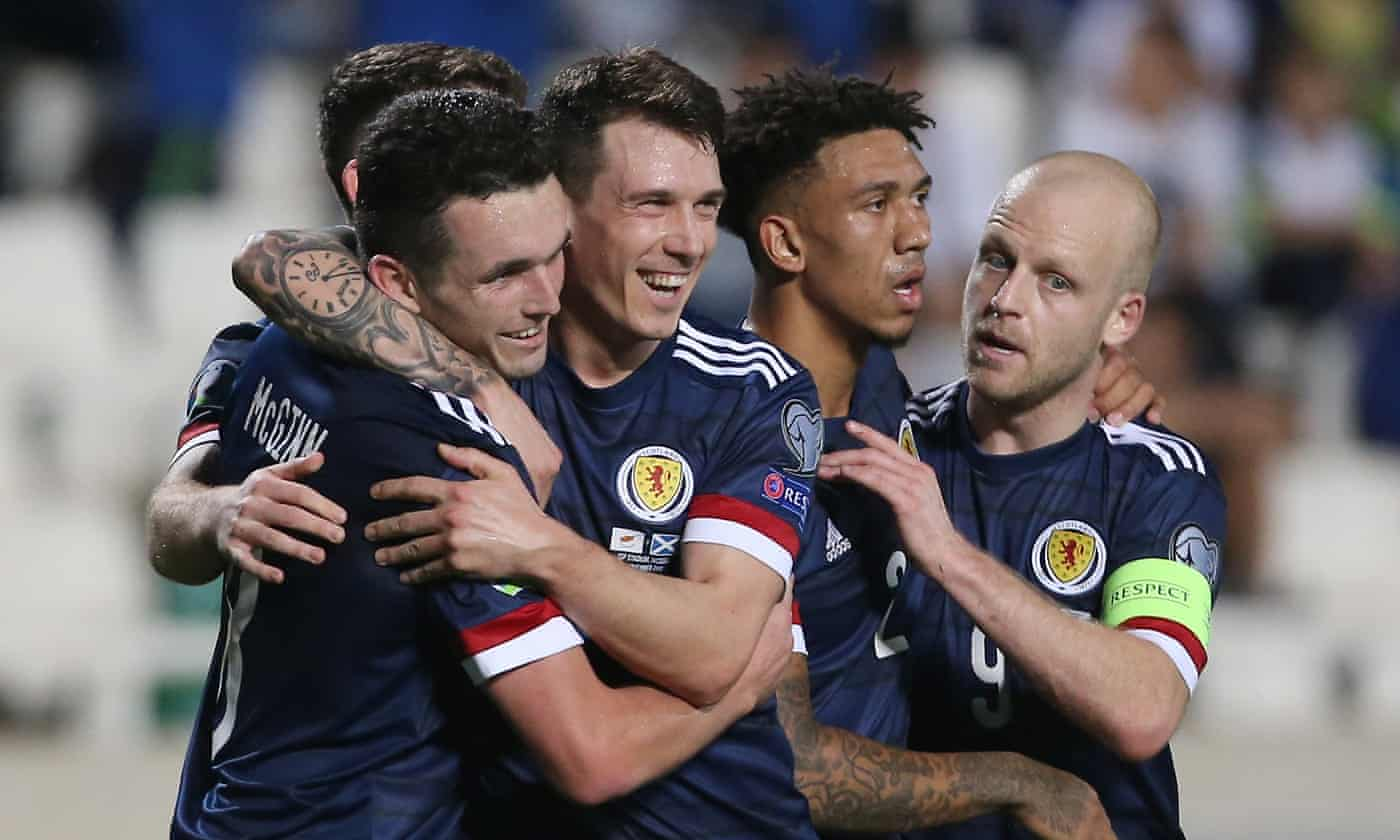 Cyprus 1-2 Scotland: Euro 2020 qualifier – as it happened
